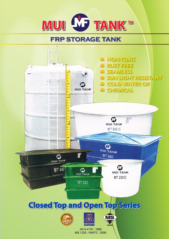 FRP Mui Tank Storage Tank