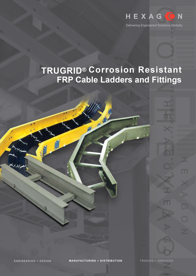 FRP Cable Ladders and Fittings