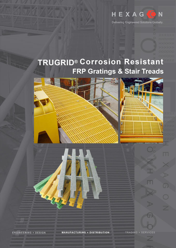 FRP Gratings & Stair Treads