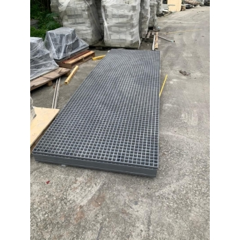 MOLDED GRATING FOR DRAIN COVER