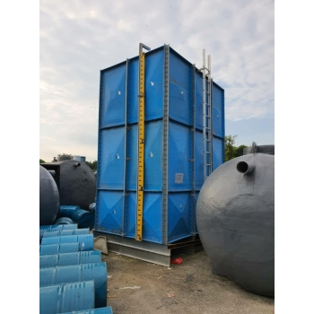FRP/GRP Sectional Panel Tank Refurbish & Maintenance