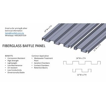 FIberglass Buffle Panel