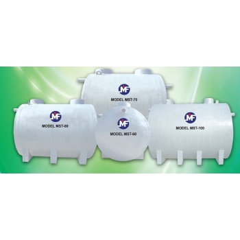 Septic Tank Sewage Treatment from 40 PE to 150 PE