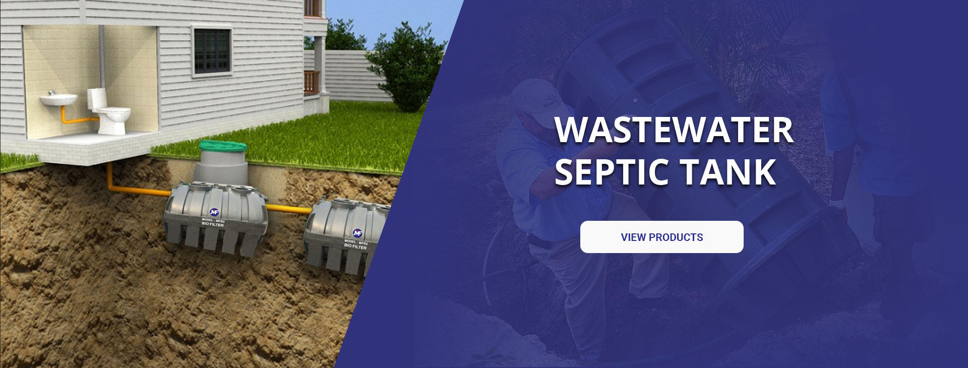 Wastewater Septic Tank
